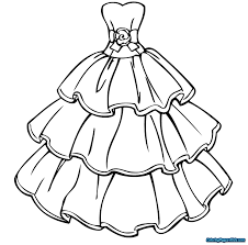 Barbie Coloring Pages Fashion Dress Luxury Mofassel Of 2 Futuramame