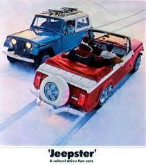jeepster commando jeep jeepster commando c101