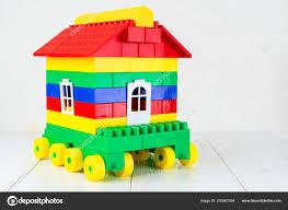 Designer Childrens Toys Toy House On Wheels A Camper From A Childrens Designer