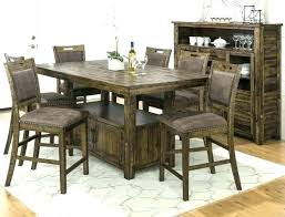 farmhouse dining room table set pub style kitchen table 6 chairs farmhouse dining table set dining