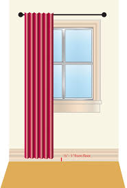 measure for diffe curtain styles
