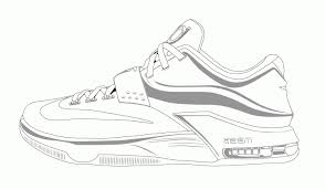 Jordan Shoes Coloring Pages To Print Free Books Throughout Viettiinfo