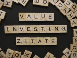 Value Investing Zitate Von Bekannten Value Investoren Valuedach