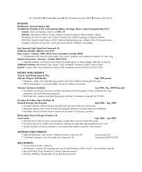 Example Of College Resume Stunning sample college student resumes letsdeliverco