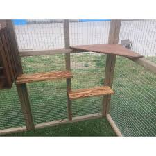 cat safe furniture. Cat House/ Play Pen Free Standing Safe Enclosure Ladders And Shelves 6x9ft Furniture