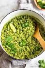 arroz verde  green rice