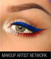 4th of july inspired 20 patriotic eye makeup ideas step by step that you have