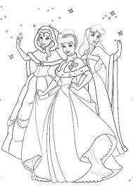 Disegni Da Colorare Disney Natalizi Le Principesse Dinverno
