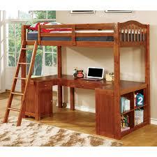 Lovely Duro Z Bunk Bed Loft With Desk Black Hayneedle Beds For Sale  Masterenl