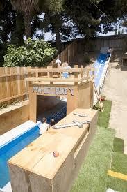diy pool water slide ideas