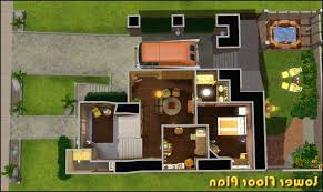 mansion floor plans sims 3 in new charming idea plan 12