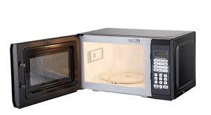 Hamilton Beach 0 7 Cu Ft Red Microwave Oven Walmart Com