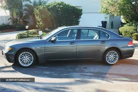 BMW Convertible 2004 bmw 750 : 2004 Bmw 745il Loaded With Almost All Options Plus K40 Built In