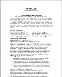 Apartment Manager Resume Sle Property Manager Resume Sle Sle
