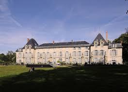 une vue de la faaade ouest. Château De Malmaison à Rueil-Malmaison - Vue La Façade Postérieure (sud- Une Faaade Ouest