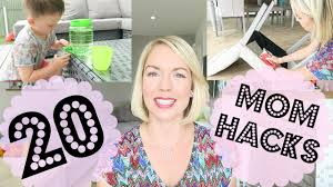Life Hacks For Moms 20 Mom Hacks Life Hacks Emily Norris Youtube