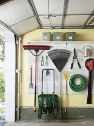 Use a Pegboard to Make Space - 49 Brilliant Garage Organization Tips, Ideas  and DIY