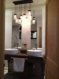 fanciful bathroom pendant lighting ideas interiordesignew com glass hanging sconces in height of lights