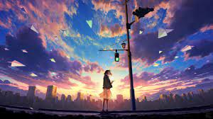 Anime Scenery 4k Wallpapers - Wallpaper ...
