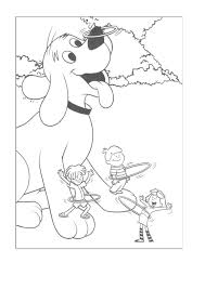 Coloring Pages Of Clifford The Big