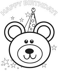 birthday color page happy birthday color page happy birthday coloring pages for dad