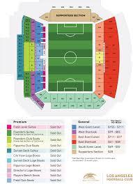 Hd Banc Of California Stadium Layout And Pricing Banc Of