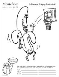 Small Picture Coloring Pages for Children with a Healthy Message