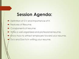 Your Way Toward Professional Resume Ppt Video Online Download Awesome Resume Features