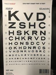 Eye Chart Actual Size Pocket Size Eye Chart Rosenbaum And Snellen Plastic Set Of 2