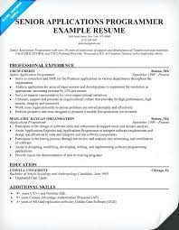 computer programmer resume samples sample computer programmer resume senior applications programmer