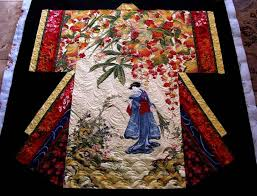 Best 25+ Asian quilts ideas on Pinterest | Japanese quilts, Fabric ... & Kimono Quilt Finished! Adamdwight.com