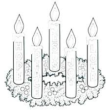 Advent Wreath Coloring Sheet Advent Coloring Pages Catholic