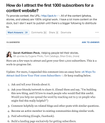 the incredibly simple guide to using quora for marketing re answer questions you ve answered in your blog and link to your answer