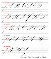 alphabet practice paper uppercase alphabet in copperplate guidelines practice sheet