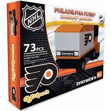 Philadelphia Flyers Bedroom Oyo Sports Nhl 73 Piece Zamboni Building Block Set Philadelphia