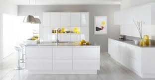 Deco Cuisine Moderne Jaune Blanc Ideeco