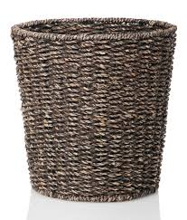 Amazon.com: Waste Bin - Woven Waste Paper Basket for Bedroom ...