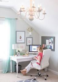 home office in bedroom. Grey White And Gold Home Office Studio GORGEOUS In Bedroom