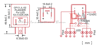 3 pin electronic led blinker relay flasher fix cf13jl ebay 3 Pin Flasher Relay Wiring Diagram there are 2 basic versions 3 pin led flashers with same out shape but different pin outs in circuit design( 3 pin flasher relay wiring diagram manual
