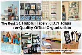 diy office organization 1 diy home office. Interesting Home The Best 31 Helpful Tips And DIY Ideas For Quality Office Organization   Idees And Solutions Inside Diy 1 Home O