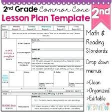 Lesson Plan Template High School Sample Common Core Plans Standards ...