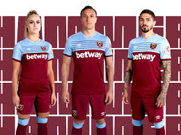 The west ham united crest is in full colour with an embroidered frame, while the fa cup winners are honoured further with a 1980 crest graphic on the back of the neck. West Ham Kit 2019 20 Home And Away Shirt Unveiled Radio Times