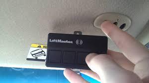 how to reset garage door openerHow To Program Your Visor HomeLink System to a LiftMaster 2280