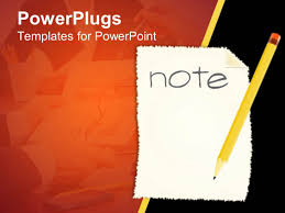 powerpoint template yellow pencil on white paper written note in ppt template he words get help here symbolizing the need to offer support and answers