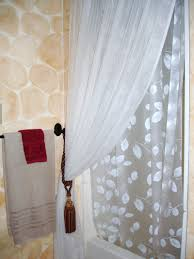 awesome elegant how to hang curtain tie backs with shower curtains that  hang from the ceiling
