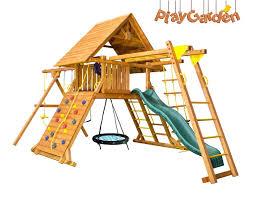 <b>Детские площадки</b> из дерева в Москве | Купить игровой комплекс ...
