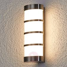 leroy stainless led exterior wall lamp 9619020 03