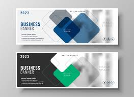 Business Banner Design Creative Corporate Business Banners Design Vector Free Download