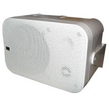 poly planar b0x 200w white waterproof full size box speakers pair poly planar white waterproof full size box speakers pair x box speaker white low magnetic field bass reflex hardware and speaker wire included