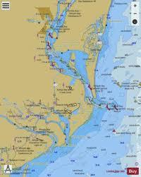 Winyah Bay Marine Chart Us11532_p212 Nautical Charts App
